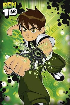 Ben 10 : Solo - Maxi Poster 61cm x 91.5cm (new & sealed)