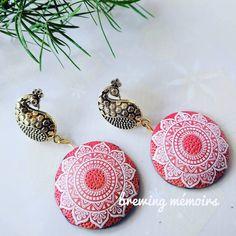 Polymer Clay Jewelry, Insta Art, Jewelery, Crochet Earrings, Mandala, Jewelry Design, Artist, Artwork, Jewelry