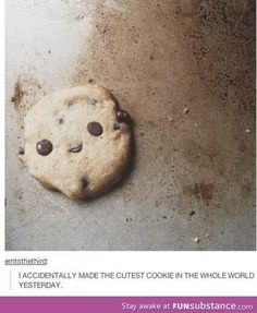 The cutest cookie