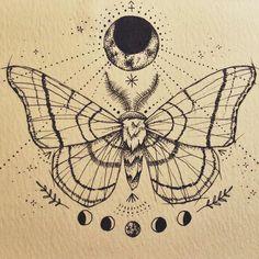 sternum tattoo design tattoo junk sternum tattoo moon moths tattoo ...