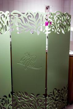 Decorative panels in the interior