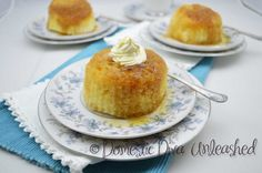 Domestic Diva: Maple Steamed Puddings in the Varoma