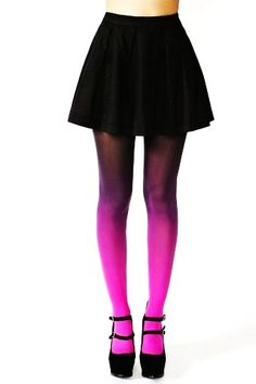 Pink OmbreTights - Fashion OmbreTights For Women