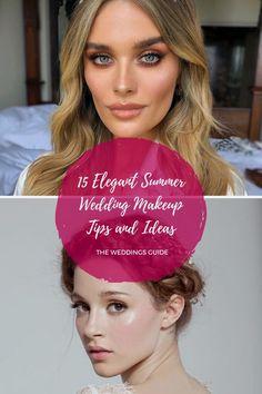 Elegant Summer Wedding Makeup Tips and Ideas #makeup Summer Wedding Makeup, Wedding Makeup Tips, Glitter Makeup, Eyeshadow Makeup, Makeup Inspiration, Makeup Ideas, Wedding Styles, Makeup Looks, Dream Wedding