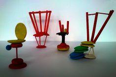 Kunst og håndverk på Fjellhamar skole Triangle, Design