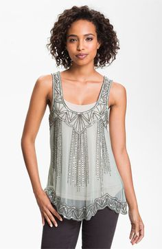 Willow & Clay Embellished Tank available at #Nordstrom