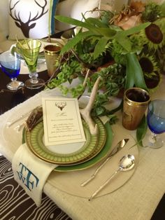 toby fairley - check out the gorgeous monogrammed napkins