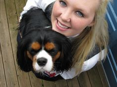 Me and my beautiful cavalier Felix