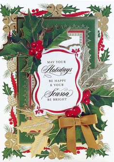 101 best cards ag christmas glorious card kit images on pinterest in glorious greetings christmas card making kit september m4hsunfo