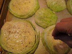 Garlic Rubbed Roasted Cabbage Steaks - HowToInstructions.Us