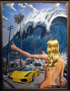 "New Damian Fulton Gallery Show ""Surfploytation"" in LA | GrindTV.com"