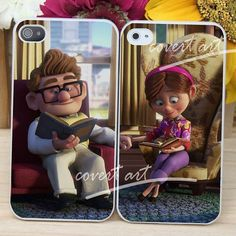 up movie disney ellie and carl couple for iPhone 4 / 4S / 5 / 5c /5sCase Samsung Galaxy S3 / S4 Case on Etsy, $30.00
