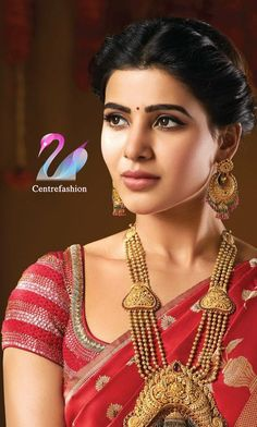 The Right Way To Care For Your Beautiful Jewelry Beautiful Bollywood Actress, Most Beautiful Indian Actress, Beautiful Actresses, Samantha In Saree, Samantha Ruth, Samantha Images, Babe, Indian Actress Photos, Indian Actresses