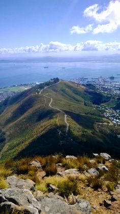 A view of Signal Hill at the top of Lion's Head