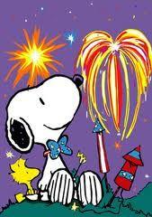 Patriotic Snoopy ...