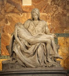 Pietà by Michelangelo in St.Peter's Basilica, Vatican City
