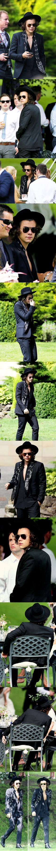 Is this what he would be wearing at Liam's wedding in After? Yes. And is he still attractive? Strangely, yes. Why? He's Harry Styles. #afterfandom #gotnoshame