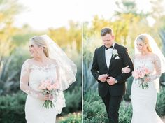 #EnzoaniRealBride Kristin looking absolutely PERFECT in our Blue by Enzoani Olva gown! | Andrew Jade Photography