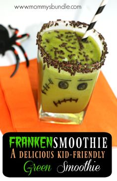 A DELICIOUS kid-friendly Halloween treat and smoothie recipe even your picky-eater will LOVE! Use…