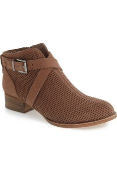 Vince Camuto 'Casha' Perforated Bootie (Women) available at #Nordstrom