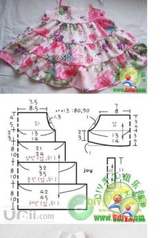 Best 11 Emilse sofía s 156 media analytics – Artofit – Page 324048135687282566 – SkillOfKing. Sewing Baby Clothes, Baby Sewing, Doll Clothes, Kids Dress Patterns, Clothing Patterns, Clothing Ideas, Fashion Kids, Little Girl Dresses, Girls Dresses Sewing