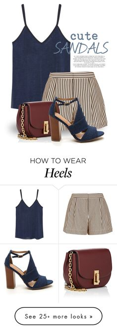 """Cute Sandals 1649"" by boxthoughts on Polyvore featuring MANGO, 3.1 Phillip Lim, Marc Jacobs and Rachel"