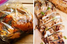 To freeze and use throughout the week. Chicken Marinade Recipes, Chicken Marinades, Marinated Chicken, Roast Chicken, Yogurt Curry, Cooking Recipes, Healthy Recipes, Sweet Chili, Meal Prep
