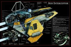 Space Ship Star Fighter Concept Star Wars