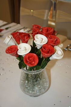 Ceramic roses  By rosy