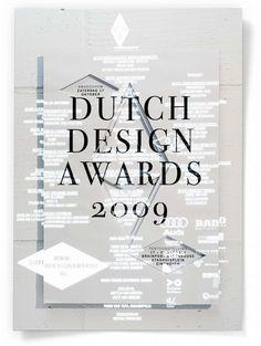 Studio Dumbar: Dutch Design Awards Visual Identity & Performances