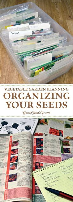 Winter is the perfect time to plan your vegetable garden. Start by organizing your seeds so you can take inventory, test older seeds for germination, make a list of seeds to purchase, and place your seed order. Once spring comes there is so much to do. It is helpful to have your seed inventory ready when it is time to plant them.