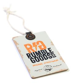 RUMBLE GOOD Swing Tag - Nilorn