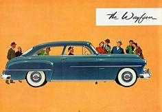 1951 Dodge Wayfarer 6-Passenger Sedan