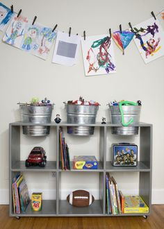 Cute idea for a kids space