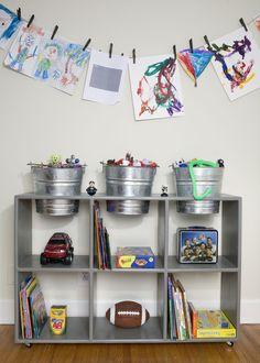 Cute idea for a kids space