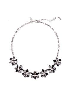 Dazzling Floral Collar Necklace  - New York & Company