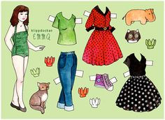 Agnes Brandels * 1500 free paper dolls at Arielle Gabriel's The International Paper Doll Society for paper doll pals at Pinterest *