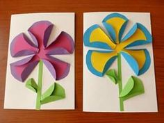 Inspire your kids to discover the creative world of paper crafts for weekend or holiday fun. These awesome yet easy DIY paper crafts for kidsguarantee great fun and learning too. Kids Crafts, Preschool Crafts, Arts And Crafts, Preschool Teachers, Kindergarten, Diy Paper, Paper Crafting, Paper Art, Spring Art