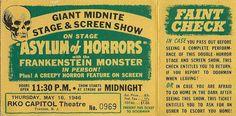Spook Show Faint Check