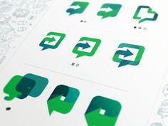 Work Chat - logo exploration