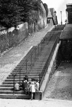 Inge Morath - Montmartre, 1957.