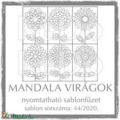 MandalaVirágok + Mandalák 44/2020 (kedo) - Meska.hu