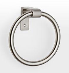 West Slope Towel Ring Polished Nickel