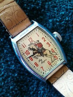 Vintage 1950's Roy Rogers Wristwatch Works Great | eBay...