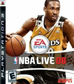 NBA Live 08 by Electronic Arts #videogames #gamer #xbox #nintendo #playstation