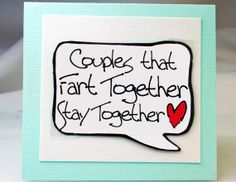 I love that this is a magnet and a card!!! Funny Valentines Day Card for Couples. Cute Fart by katndrewcards, $3.25