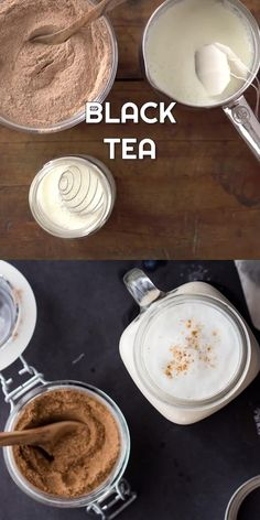 Easy Chai Tea Latte Recipe, Tea Mix Recipe, Homemade Chai Tea, Chai Recipe, Chai Spice Mix Recipe, Tea Recipes, Coffee Recipes, Sweet Recipes, Yummy Drinks