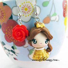 He encontrado este interesante anuncio de Etsy en https://www.etsy.com/es/listing/110500138/belle-disney-princess-earrings-disney