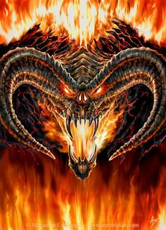 Balrog by Anne Stokes