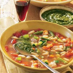 You can make this soup in a slow cooker, so you have more time for way more important things. Like Netflix marathons. Get the recipe from Delish.   - Delish.com